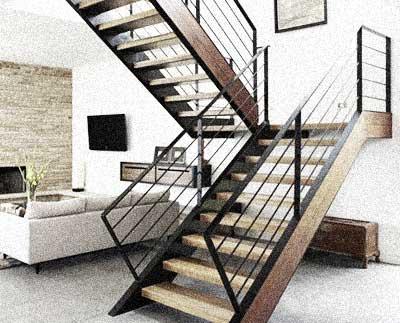 Escaleras a medida carpintería de madera