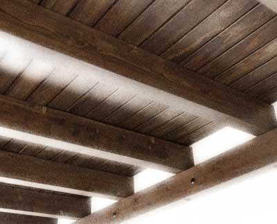Estructuras y techos de madera